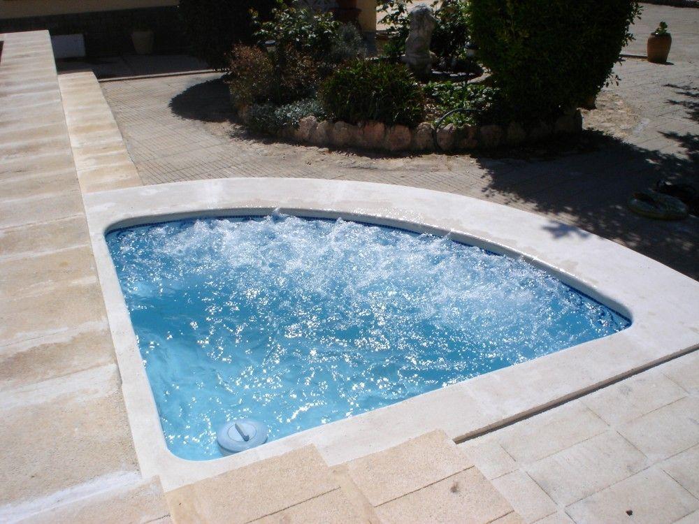 Piscinas cano modelo r 2 mini piscinas valencia para terrazas for Piscinas de obra baratas