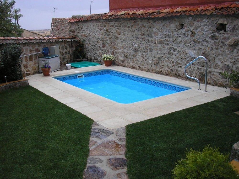 Piscina modelo c 45 mini piscina para aticos valencia for Fotos piscinas para espacios pequenos